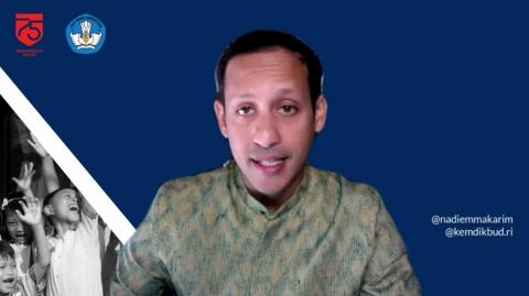 Heboh Soal Kamus Sejarah RI, Nadiem Akhirnya Angkat Bicara