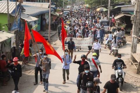 Junta Militer Myanmar Anggap Pemerintah Bayangan Ilegal