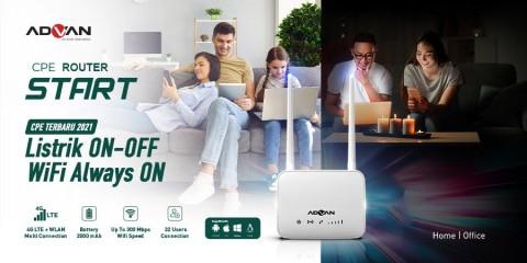 Advan Rilis Router, Bisa Pakai Kartu SIM dan Punya Baterai