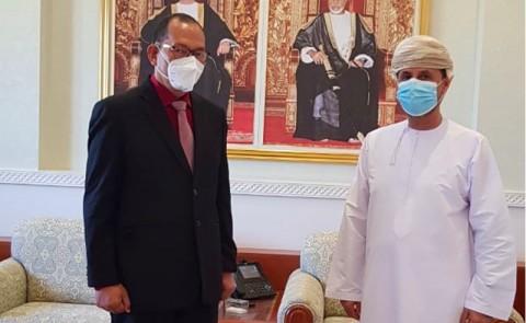 Indonesia-Oman Bahas Penguatan Kerja Sama Hukum