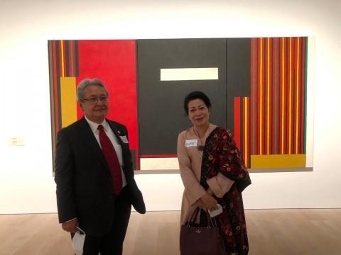 Karya Pelukis Indonesia Dipamerkan di Tokyo, Satu-satunya dari ASEAN