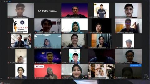 Sejumlah Mahasiswa IPB Dilatih Menulis Storytelling