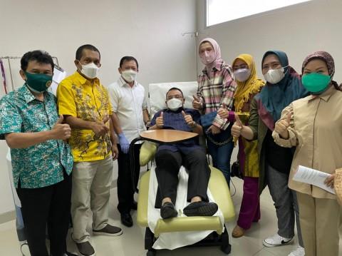 11 Anggota DPR Mengaku Lega Usai Menerima Dendritik Imunologi Nusantara