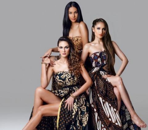Bikin Pusing, Luna Maya, Anya Geraldine, dan Cinta Laura Foto Bareng, Cantik Mana?