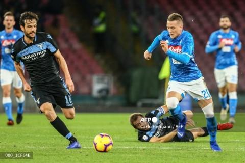 Napoli vs Lazio: Partenopei Menang Telak