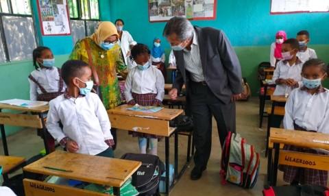 Pelajar SD dan SMP Ethiopia Sangat Tertarik Belajar di Indonesia