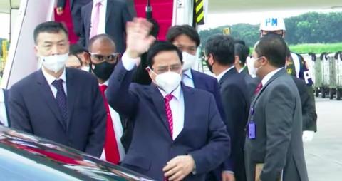 Perdana Menteri Vietnam Tiba di Jakarta untuk Hadiri KTT ASEAN
