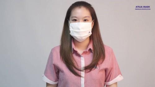 Pentingnya Gunakan Masker yang Efektif Mencegah Virus (Foto: dok. ateja)