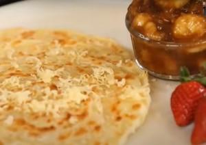 Resep Roti Maryam Pisang Karamel