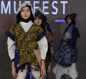 3 Karya Memukau Desainer Muda di MUFFEST Surabaya 2021