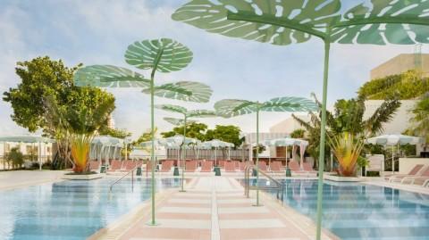 Hotel Pharrell Williams Bergaya Art Deco yang Manis di Miami