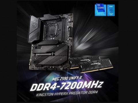 Kingston HyperX Catat Rekor Dunia Overclocking DDR4