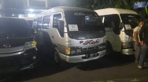 Nekat Mudik, Puluhan Travel Gelap Disita Polisi