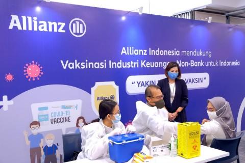 Allianz Indonesia Dorong Kesuksesan Program Vaksinasi Covid-19