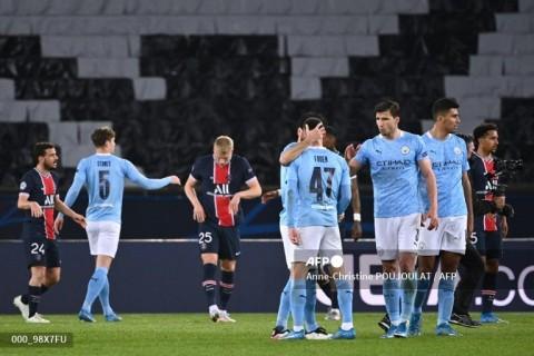 PSG vs Manchester City: The Citizens Atasi 10 Pemain Les Parisiens