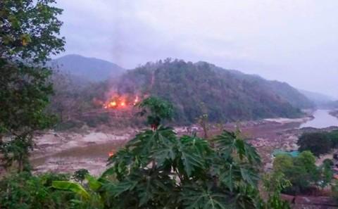 Junta Myanmar Lancarkan Serangan Udara Baru di Wilayah Pemberontak