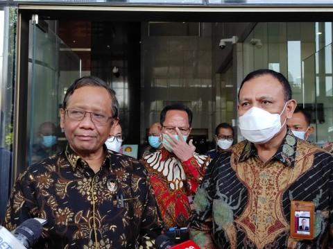 Minta Dokumen Milik KPK, Mahfud Gas Tagih Utang Kasus BLBI