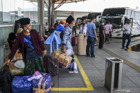 1.000 Bus di Medan Mangkrak Akibat Larangan Mudik