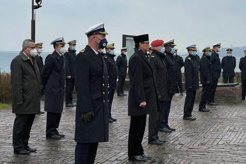 Penghormatan Asosiasi Awak Kapal Selam Jerman Bagi Kru KRI Nanggala