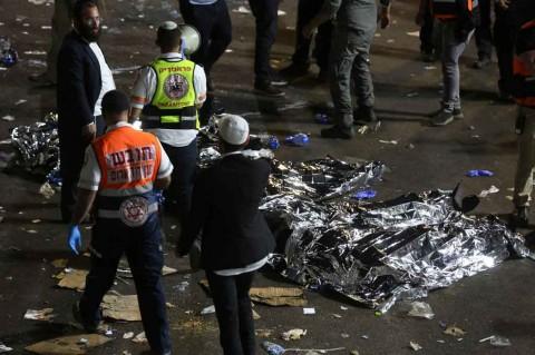 44 Mayat Ditemukan dalam Insiden di Sebuah Acara Keagamaan Israel