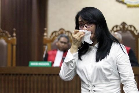 Ditangkap KPK Lagi, Eks Bupati Kepulauan Talaud Sri Wahyumi Emosi