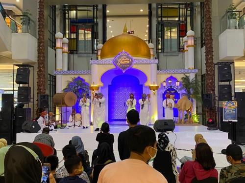 Suasana event Our Ramadan Journey di Tangcity Mall. (Foto: Ist)