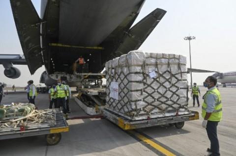 Bantuan Darurat Medis Perdana AS Tiba di India