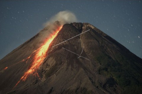 112 Kali Gempa Guguran Terjadi di Gunung Merapi