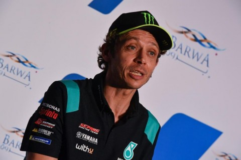 Jelang MotoGP Spanyol, Rossi Seperti Tak Punya Gairah