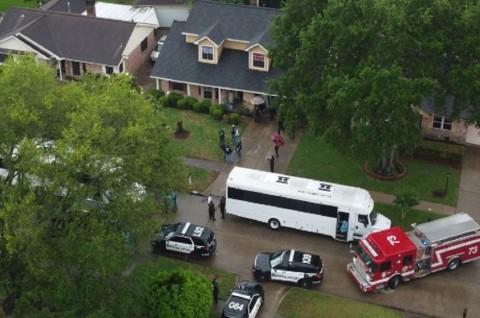 Penyelundupan Manusia, 90 Orang Berdesakan dalam Satu Rumah di Texas