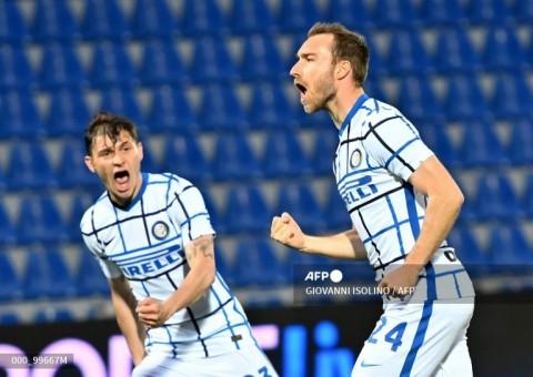Crotone vs Inter: Inter Kerja Keras Raih Poin Penuh