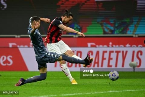 Milan vs Benevento: Rossoneri Menang Mudah