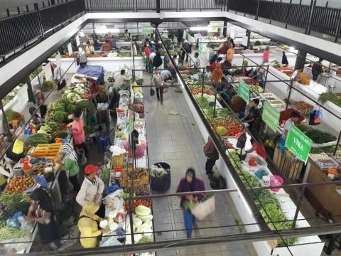 Pemprov DKI Perketat Prokes di Pasar Menjelang Lebaran
