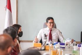 Menparekraf Optimistis Ekonomi Sabang Bangkit dengan Digitalisasi UMKM