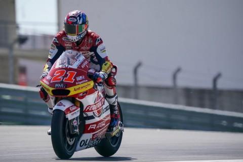 'Tim Indonesia' Tampil Kompetitif di Kualifikasi Moto2 Spanyol