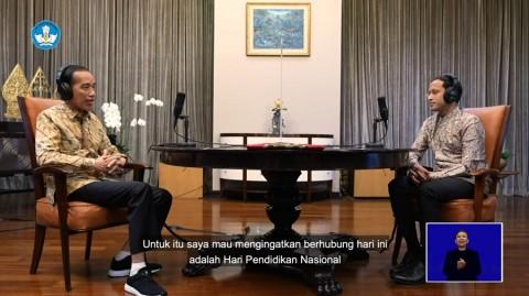 <i>Ngobrol</i> Bareng Nadiem di Podcast, Jokowi Ternyata Tipe Pelajar Ini