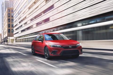 Generasi Ke-11 Civic Punya Honda Sensing & Airbag Baru
