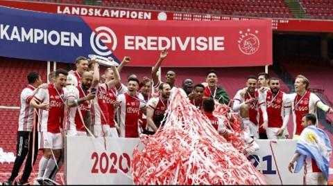 Juara Liga Belanda, Ajax Amsterdam Sudah Menorehkan 35 Trofi