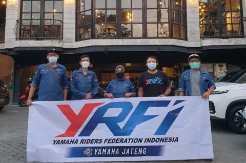 Trik Aman Bukber Komunitas Motor Ala YRFI Jawa Tengah