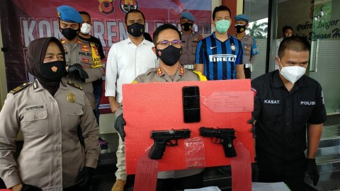 Pria Todongkan Pistol ke Kurir Ekspedisi di Bogor Ditangkap