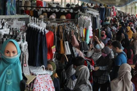 Kurangi Kerumunan, Lalu Lintas dan Operasional Pasar Tanah Abang Dimodifikasi