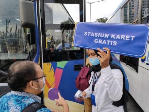 TransJakarta Sediakan Layanan Gratis Alternatif Stasiun Tanah Abang