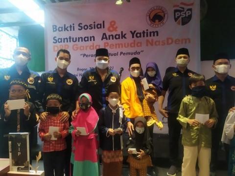 Garda Pemuda NasDem Bogor Santuni Anak Yatim