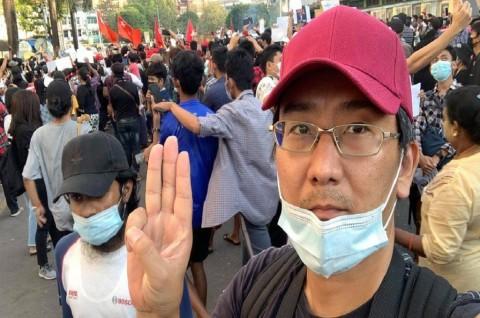 Jurnalis Jepang di Myanmar Didakwa Sebarkan Berita Palsu