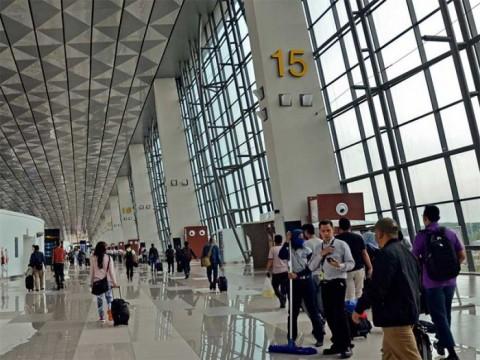 Bandara AP II Perketat Pengawasan Pemeriksaan Penumpang di Periode Larangan Mudik