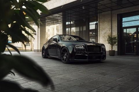 Spofec Overdose Telanjangi Kemewahan Rolls-Royce Wraith