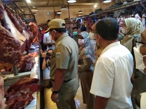 Sidak Pasar Senen, Harga Daging Naik Hingga Bahan Makanan Mengandung Zat Berbahaya