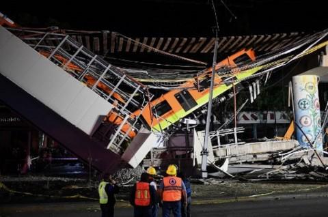 Korban Kecelakaan Kereta Meksiko Jadi 20 Orang, Termasuk Anak-Anak