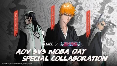 Kolaborasi Manga Bleach, AOV Kedatangan Ichigo Kurosaki