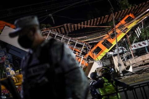 Korban Terus Bertambah dalam Insiden Robohnya Jembatan Rel Kereta Meksiko